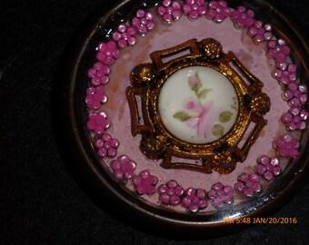 Victorian Flower Necklace