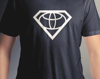 Super Toyota logo tee vehicle t-shirt C10