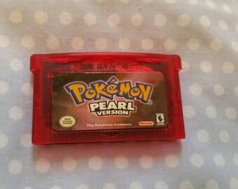 Pokemon Pearl GBA