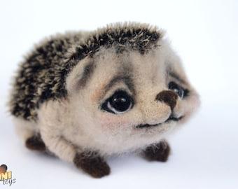 Needle Felted miniature hedgehog