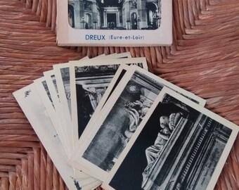 Vintage snapshots(10) of La Chappelle Saint-Louis(France)