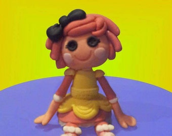 LaLa Loopsy cake topper, edible