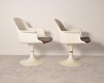 Pair of 70's Swivel Chairs