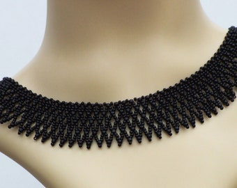 Black Collar Necklace