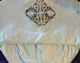 VTG 2 pc cami cotton and lace  M to L