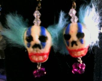 Creepy Clown Earring