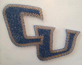 Cornerstone University Logo String Art