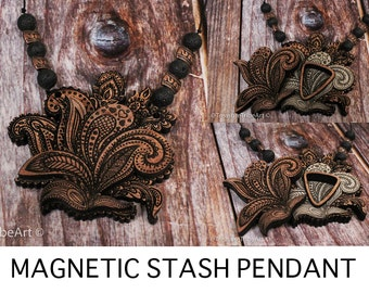 The Paisley Stash Pendant