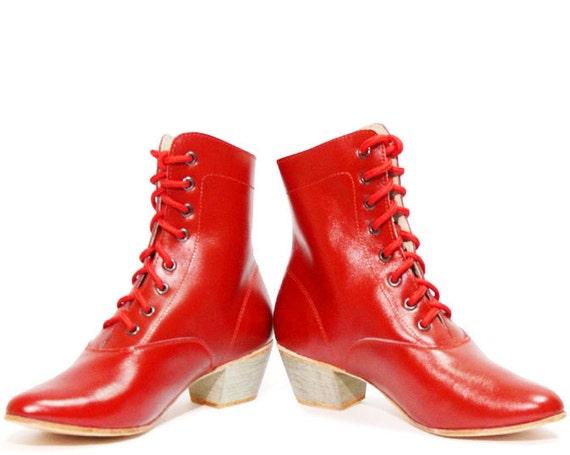 Woman Russian Dance Cossack Shoes Kadrille, Cossack boots, Dance boots, Russian boots