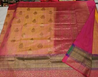 Pure Benaras Dupion Silk Saree