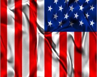 American Flag Satin Cornhole Wrap Bag Toss Decal Baggo Skin Sticker Wraps