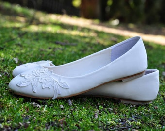 Wedding flats lace wedding flats venise lace shoes lace bridal shoes lace flats wedding flats shoes wedding flat shoes white wedding shoes