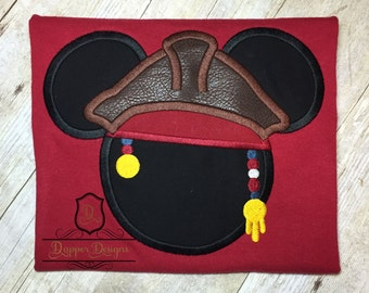 Jack Mouse Machine Embroidery Applique Design Use Coupon Code PRINCESS for 15% Off