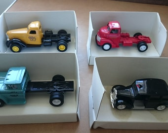 ERTL Die Cast Classic Vehicles 1988 Job Lot of 4 vehicles 1:43 scale.