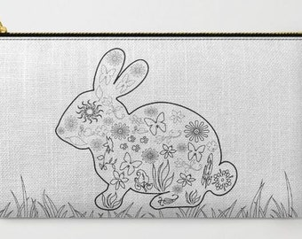 Color Your Own Bag - March Hare