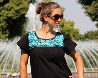 Blouse * GALANA * l * Mexican blouse