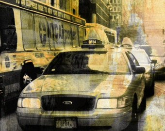 NEWYORK BW VIII by Sven Pfrommer - 150x50cm Artwork is ready to hang