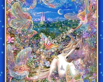 Fairies and Unicorn Sacred Spaces Pillowcase