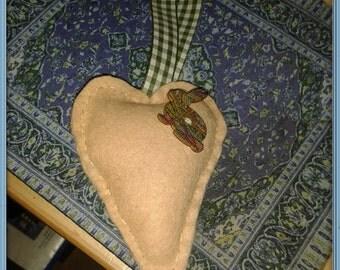 Handmade Heart Hanger