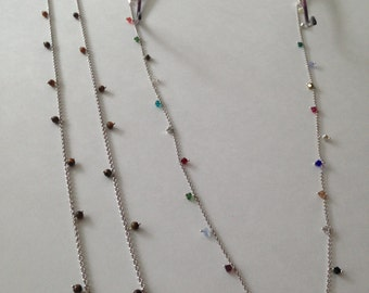 925 Sterling Silver Glasses Chain