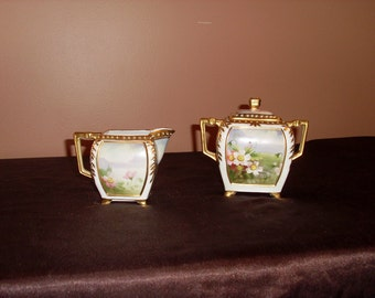 Hand Painted Nippon Porcelain  ca. 1890's