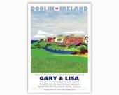 Lisa and Gary - Bespoke wedding stationery