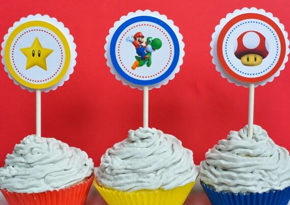Mario Party Supplies Super Mario Birthday Party Super Mario
