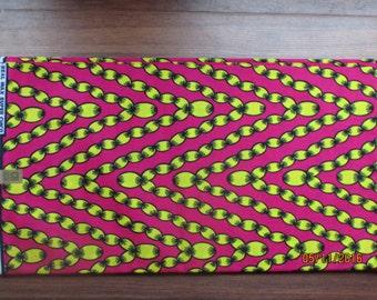 African wax print