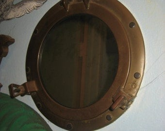 Porthole Mirror / Nautical Decor