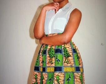 Mini skirt in loincloth