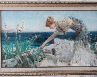 Handmade embroidery,Cross stitch picture,
