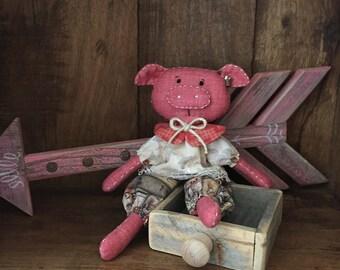 My Little Oink Piglet Doll
