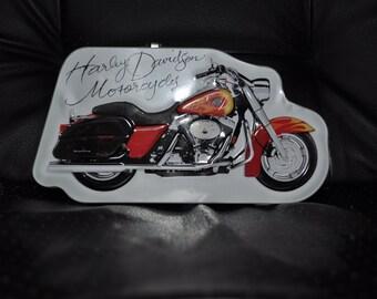 Harley Davidson Tin piggy bank