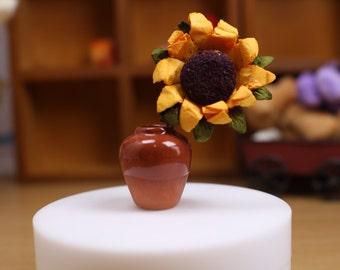 D037B Ceramics Vase Doll Miniature Dollhouse Diorama Display Blythe Barbie Fashion Royalty Momoko Azone