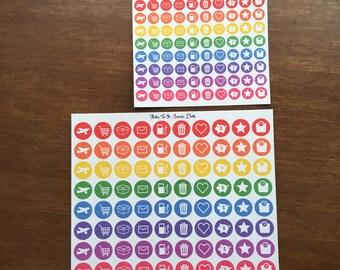 Iconic Dot Erin condren life planner ECLP Mambi Inkwell Press Filofax Kikki K Happy Life
