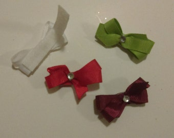 Handmade Baby Headbands & bows with velcro