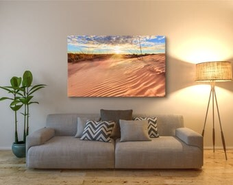 Coral Pink Sand Dunes, Utah - Canvas Print