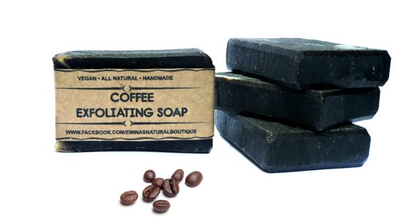 Handmade Coffee Soap, Coffee Scrub, Exfoliating Soap, Scrub Soap, Handmade Soap, Cold Process Soap, Vegan Soap, Unscented Coffee Soap, Soaps