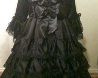 Costume, Witch, Halloween Costume, Adult Costume, Women's, Witch Costume, Halloween Wedding Dress,