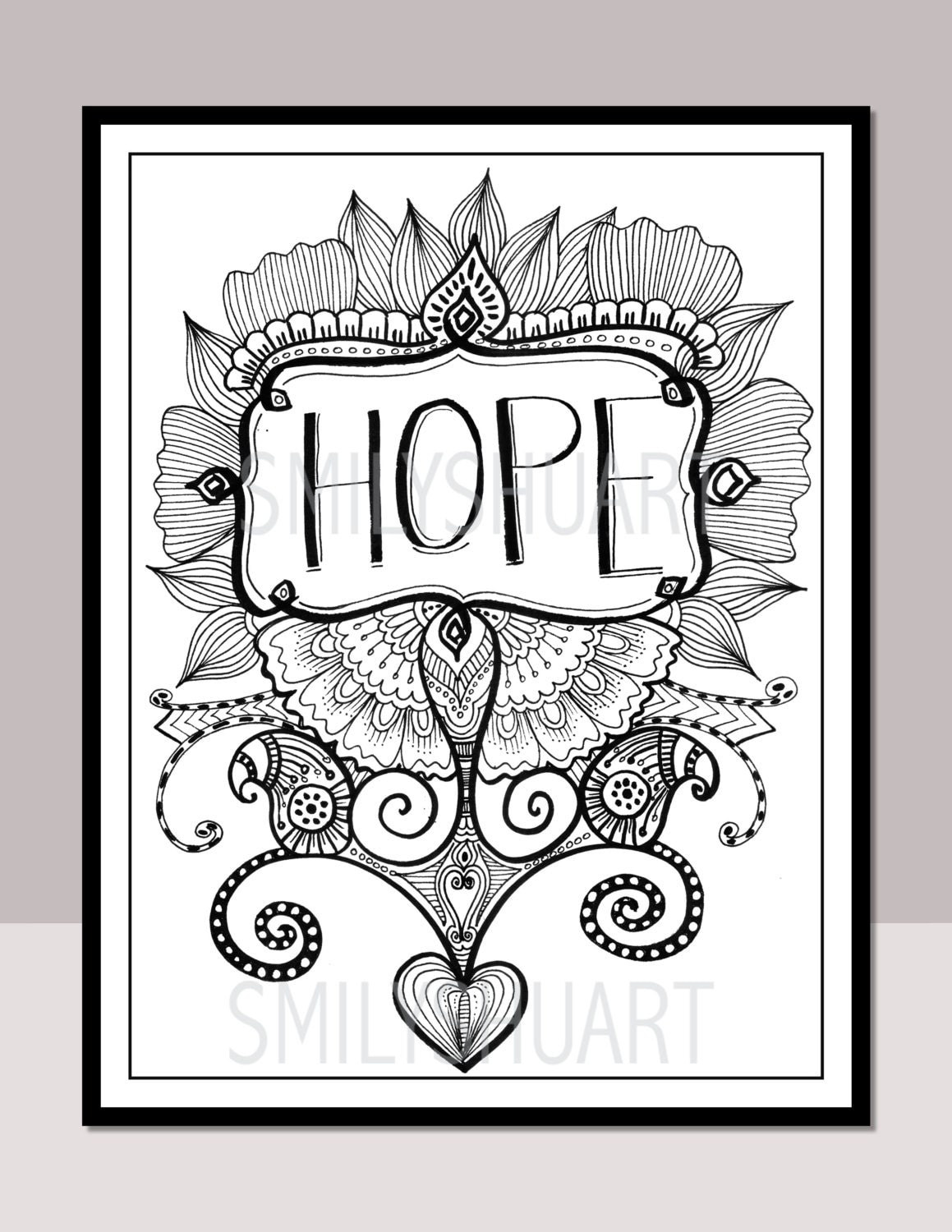Coloring pages with quotes - This Is A Digital File