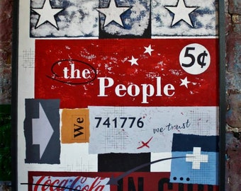 Typographic Art : Born on the 4th July