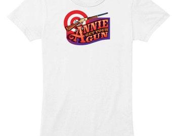 Annie Get Your Gun ladies musical t-shirt