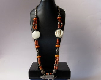Yemenite coral necklace