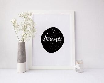 Dreamer Art Print - Digital Print
