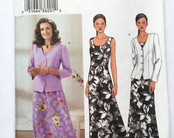 Butterick 3758 Dress and Jacket