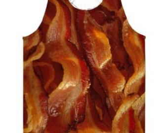 Bacon Tank Top.  Maybee the greatest garment ever created