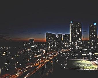 Sunkissed Skyline