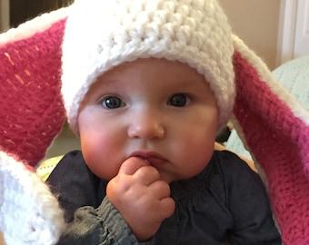 Floppy Ear Bunny Crochet Hat