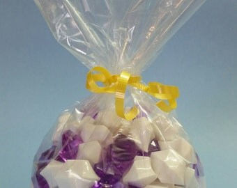 """Cellodepot 100 Clear 4"""" x 2.5"""" x 10"""" Gusseted Cellophane Bags"""