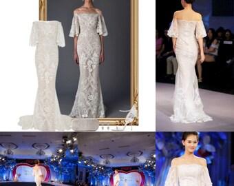marchesa bridal 2017 inspired wedding dress